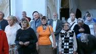 UFA, RUSSIA - July 20: Liturgy, Russian Orthodox Church Stock Footage