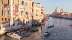 Beautiful establishing shot of Venice, Italy. Stock Footage