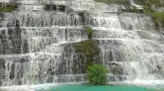 Pongour waterfall Stock Footage