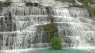 Stock Video Footage of Pongour waterfall