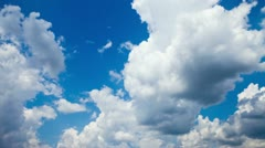 Clouds in the sky Time Lapse 1 Stock Footage