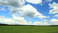 Summer field timelapse Stock Footage