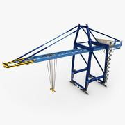 3d model of Felixstowe Dock Crane