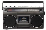 Stock Photo of Cassette deck with radio and recorder