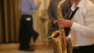 Stock Video Footage of Sax player