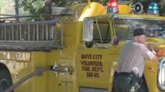 Stock Footage - Emergency Scene - emergency workers Stock Footage