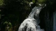 Stock Video Footage of waterfall nature background