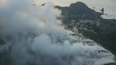 Volcanic activity Stock Footage