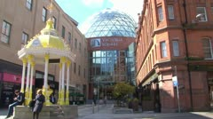 Victoria Square Shopping Center Stock Footage