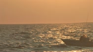 Stock Video Footage of Cape Cod Coast at Sunset