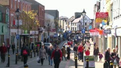 Lisburn Bow Street Stock Footage
