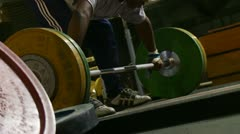 Weightlifting 01 HD Stock Footage