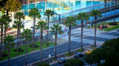 San Diego Intersection - stock footage