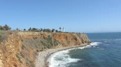 Point Vincente Lighthouse - Rancho Palos Verdes, Ca - stock footage
