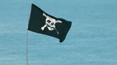 Stock Video Footage of Jolly Roger