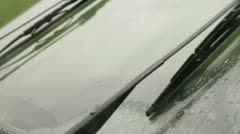 Windshield Wiper Stock Footage