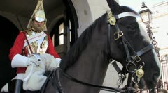 Royal Horse Guards Stock Footage