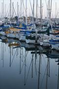 Mirrored Sails Stock Photos