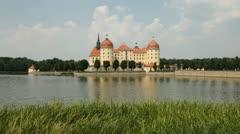 Moritzburg Castle, Germany Stock Footage