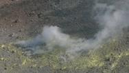 Vulcano fumarole 14 Stock Footage