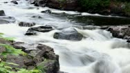 Stock Video Footage of Water rapids time lapse