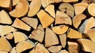 Firewood Stock Footage