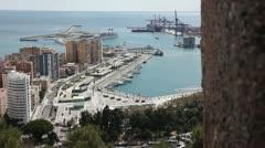 Port of Málaga - V2 Stock Footage
