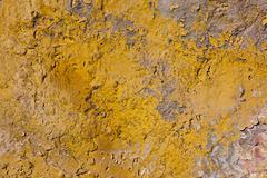 Old walls, peeling paint Stock Photos