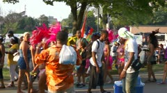 Caribana Festival Crowd 2 Stock Footage