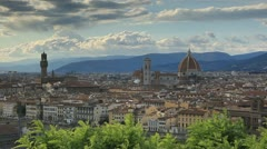 The beautiful Tuscan city of Florence Stock Footage