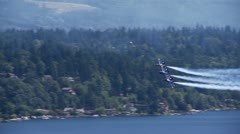 Blue Angels - stock footage