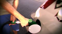 Petrol Pump Stock Footage