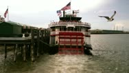 New Orleans Paddle Boat 2611 Stock Footage