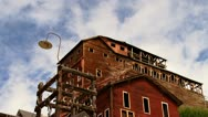 Kennecott Mine Historic Concentration Mill Time Lapse Stock Footage