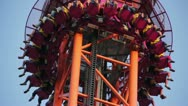 Stock Video Footage of Amusement ride