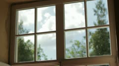 window - stock footage