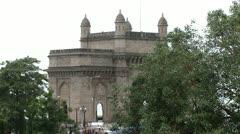 Gateway of India - Mumbai Stock Footage