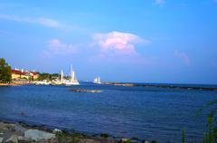 Pretty City Beach - stock photo