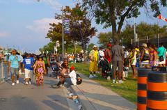 Toronto Caribana Festival Crowd - stock photo