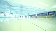 Airport Terminal - stock footage