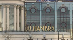 Alhambra Theatre Stock Footage