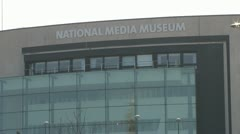 National Media Museum - stock footage