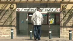 Bradford Railway Station Stock Footage