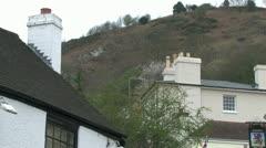 Great Malvern North Hill Stock Footage
