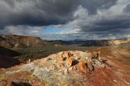 Volcanic landscape.jpg Stock Photos