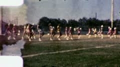 MAJORETTES PRACTICE Girls Drill 1960 Vintage Old Film Home Movie Footage 3017 Stock Footage