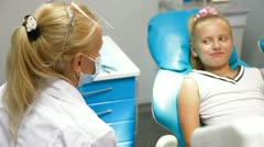 See a Dentist Stock Footage