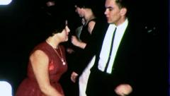 DOING THE TWIST Teen Dance Club Prom Party 1960s Vintage Film Home Movie 3084 - stock footage