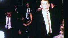 TEEN DANCE CLUB PARTY Prom Night Graduation 1962 (Vintage Film Home Movie) 3088 - stock footage