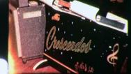 Stock Video Footage of THE CRESCENDOS Teen Rock and Roll Band 1958 Vintage Film Home Movie 3121
